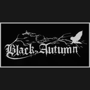 Black Autumn Logo Patch
