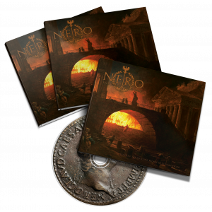 "Nero or the Fall of Rome  - ""Beneath the Swaying Fronds of Elysian Fields"" DigiPak CD"