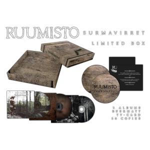"Ruumisto - ""Surmavirret"" 3-CD-Special Box [lim.]"