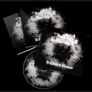 """Dame Silú de Mordomoire - """"A World of Shadows"""" DigiPak CDr"""